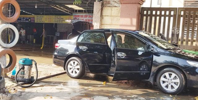 Quảng Trị:  Nghề rửa xe kiếm bộn tiền ngày cận Tết - 7
