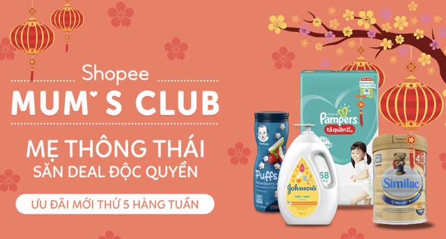 Shopee Mum's Club - địa chỉ mua sắm cho các mẹ với loạt ưu đãi giảm đến 30% - 2