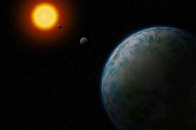 Phát hiện ra 2 siêu Trái đất có thể có sự sống ngoài hành tinh - 1