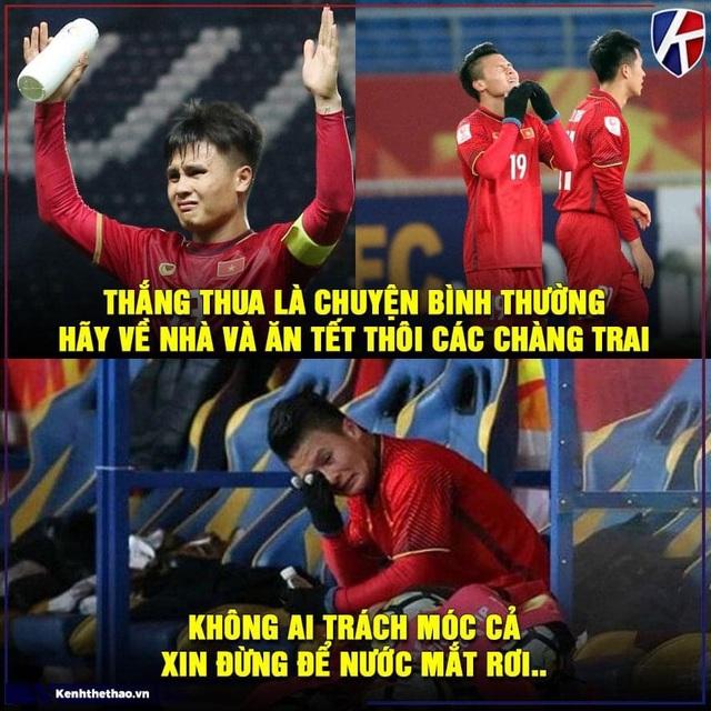 Dân mạng tiếc nuối sau khi đội tuyển Việt Nam chia tay vòng chung kết U23 châu Á - 3