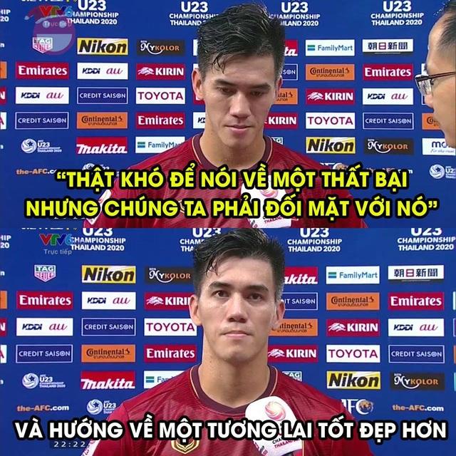 Dân mạng tiếc nuối sau khi đội tuyển Việt Nam chia tay vòng chung kết U23 châu Á - 7