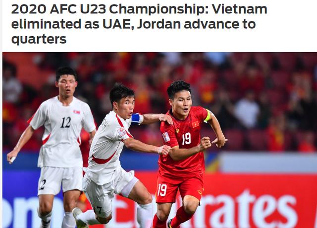 """Báo châu Á: """"U23 Việt Nam bị loại xứng đáng"""" - 2"""