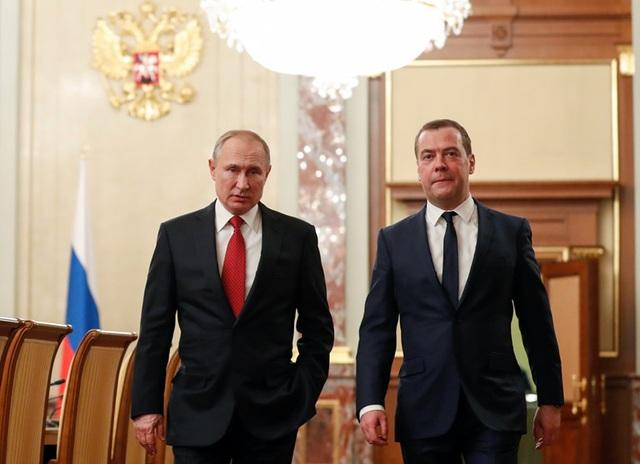 Tổng thống Putin đề cử ông Medvedev làm Phó chủ tịch Hội đồng An ninh - 1