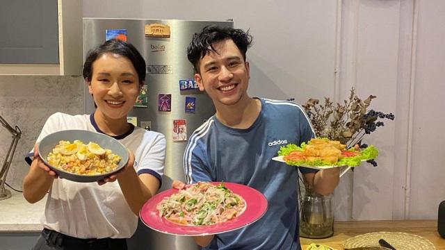 Vào bếp cùng Dino Vũ và Giang Ơi: Biến tấu mâm cơm Tết, kể chuyện ở Châu Âu - 1