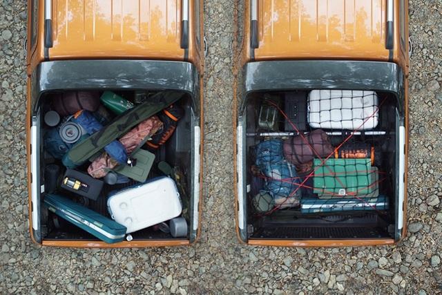 Cách xếp đồ đạc, hành lí gọn gàng và an toàn trên thùng xe bán tải - 1