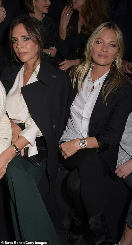 Gia đình Beckham nổi bật khi đi xem show thời trang - 5