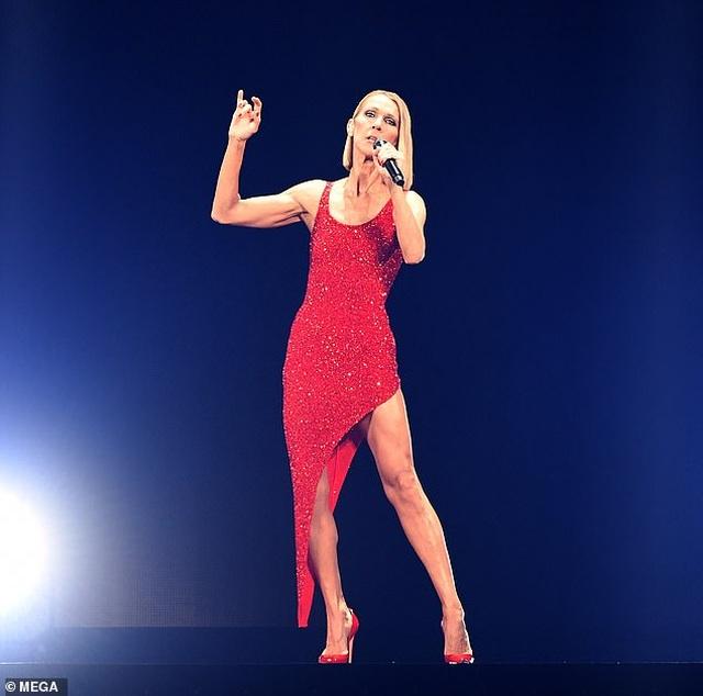 Celine Dion rớm lệ khi biểu diễn ngay sau khi mẹ qua đời - 6