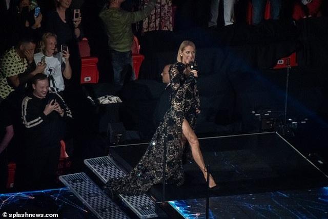 Celine Dion rớm lệ khi biểu diễn ngay sau khi mẹ qua đời - 7