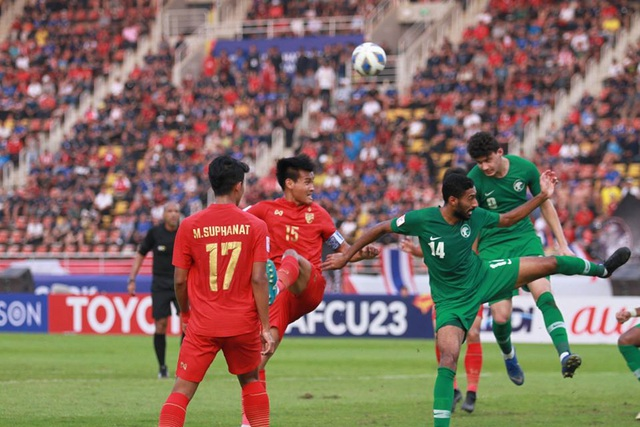 U23 Thái Lan 0-1 U23  Saudi Arabia: VAR loại đội chủ nhà - 4