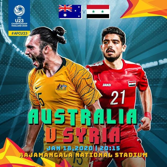 U23 Australia 1-0 U23 Syria: Bàn thắng quý hơn vàng - 6