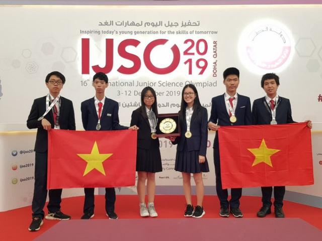 Dấu ấn giáo dục Việt trên các đấu trường quốc tế năm 2019 - 2