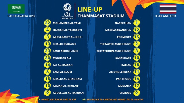 U23 Thái Lan 0-1 U23  Saudi Arabia: VAR loại đội chủ nhà - 11