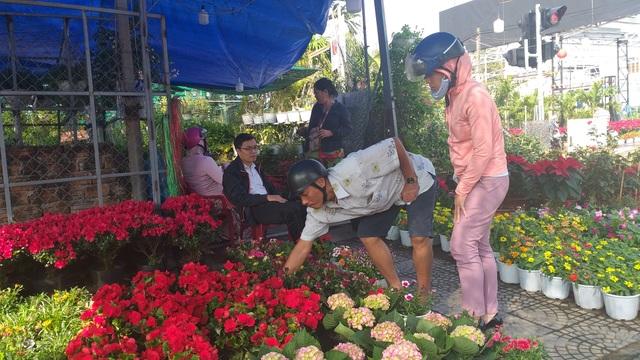 Hoa Tết ngập tràn, khách mua vắng vẻ - 2