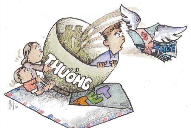 Cán bộ ngân hàng được thưởng Tết 1 tỷ đồng, nộp thuế tới 300 triệu đồng - 1