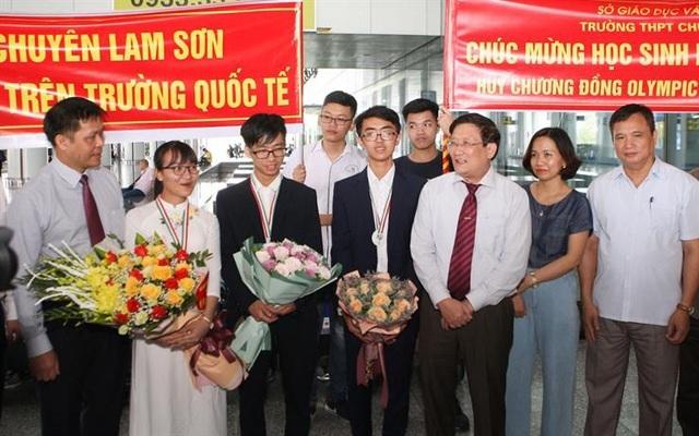Những tấm huy chương, gương mặt vàng Việt Nam tại các kỳ thi Olympic quốc tế 2019 - 4