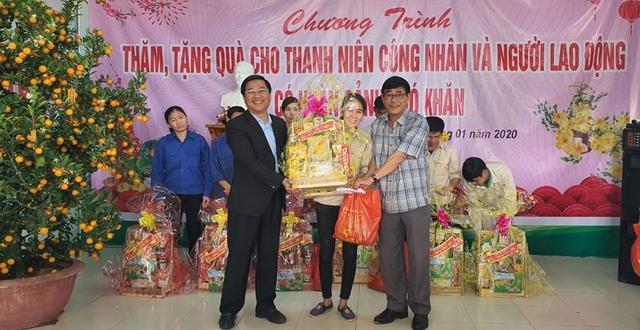 Quảng Trị: Những món quà ấm áp đến với công nhân, người lao động nghèo dịp Xuân về - 3