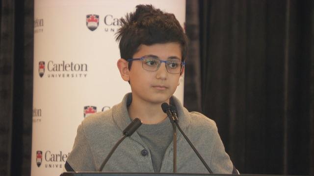 """""""Nhói lòng"""" phát biểu của thiếu niên 13 tuổi mất cha trong vụ bắn nhầm máy bay - 1"""