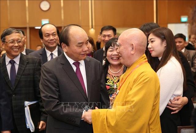 Thủ tướng gặp mặt kiều bào tham dự chương trình Xuân Quê hương 2020 - 7