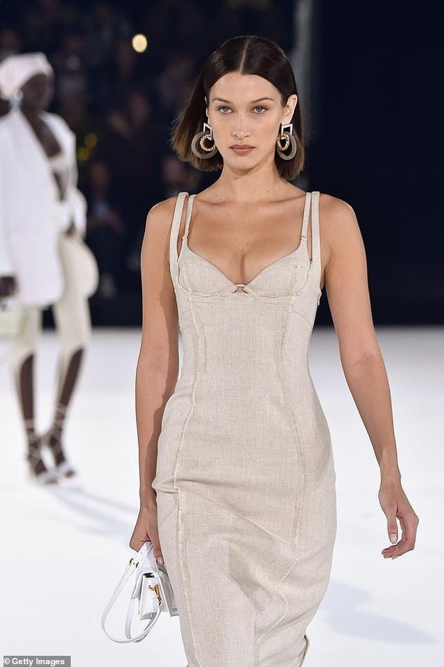 Chị em Hadid nổi bật tại tuần lễ thời trang Paris - 6