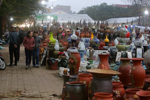 Sôi động chợ hoa Tết lớn nhất Hà Nội - 4