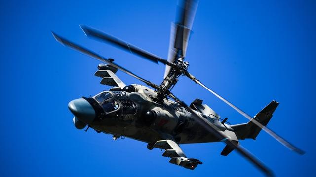 """Trực thăng """"Cá sấu bay"""" Nga phô diễn uy lực - 1"""