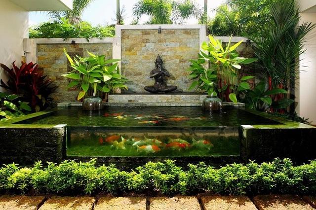 Những mẫu sân vườn xanh ngắt tràn đầy sức sống đón xuân - 6