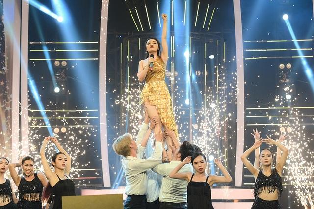 Giả giọng 4 ca sĩ, Nhật Thủy giành ngôi quán quân Gương mặt thân quen - 5