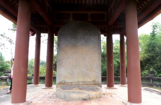 Đại Việt Lam Sơn Kính Lăng bi được công nhận là Bảo vật Quốc gia - 7
