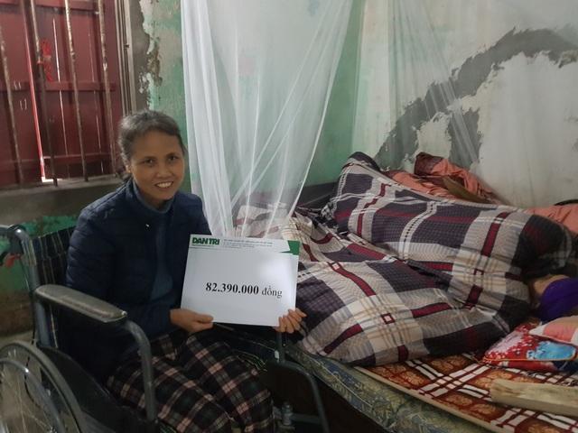 Người phụ nữ ngồi xe lăn chăm mẹ già 93 tuổi được bạn đọc giúp đỡ hơn 82 triệu đồng - 3