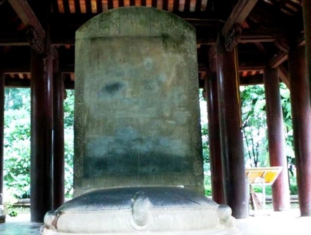 Đại Việt Lam Sơn Kính Lăng bi được công nhận là Bảo vật Quốc gia - 4