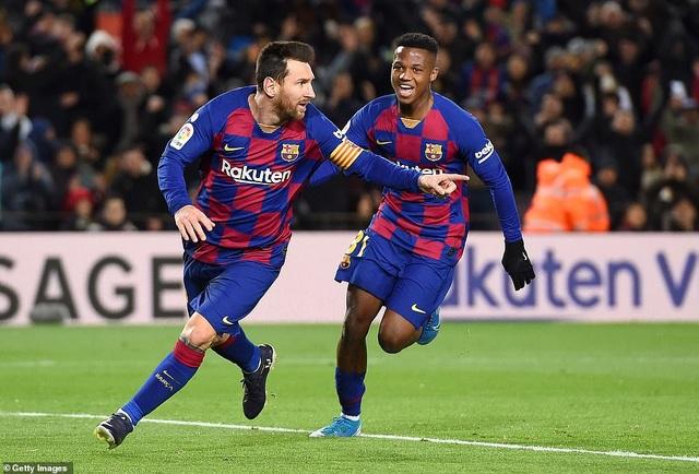 Messi ghi bàn, Barcelona giành lại ngôi đầu bảng từ Real Madrid - 3