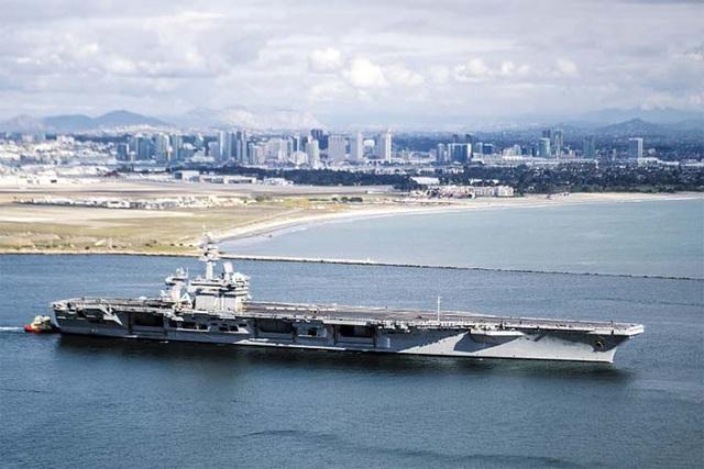Hai tàu sân bay Mỹ áp sát bán đảo Triều Tiên - 1