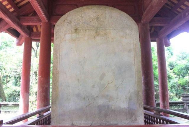 Đại Việt Lam Sơn Kính Lăng bi được công nhận là Bảo vật Quốc gia - 6