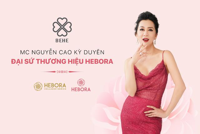 BEHE Việt Nam công bố MC Nguyễn Cao Kỳ Duyên trở thành đại sứ thương hiệu HEBORA - 4