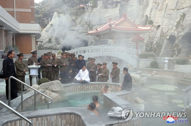 Ảnh hiếm bên trong khu nghỉ dưỡng suối nước nóng của Triều Tiên - 8