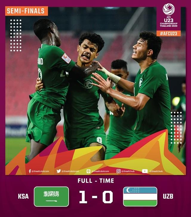 U23 Saudi Arabia 1-0 U23 Uzbekistan: Tấm vé dự Olympic đầu tiên - 1