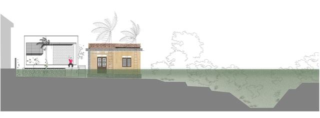 Nhà 70m2 chống ngập lụt ở Nghệ An gây sốt bởi thiết kế độc lạ - 1