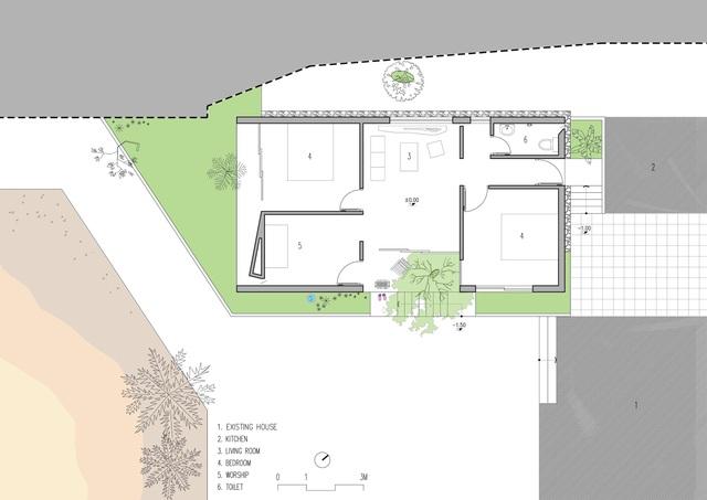 Nhà 70m2 chống ngập lụt ở Nghệ An gây sốt bởi thiết kế độc lạ - 12