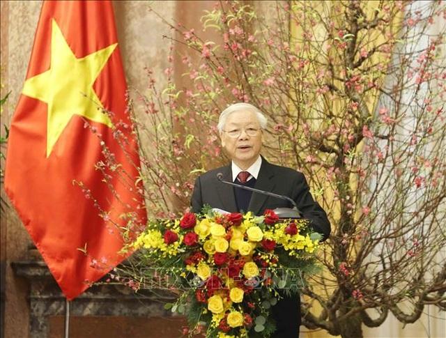 Tổng Bí thư, Chủ tịch nước chúc Tết lãnh đạo, nguyên lãnh đạo Đảng, Nhà nước - 1