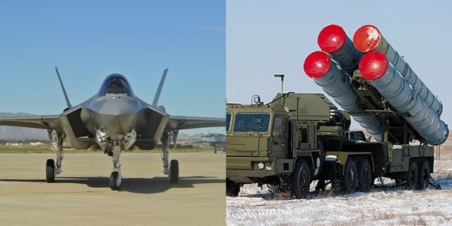 Lá chắn S-400 của Nga bắt bài tiêm kích tàng hình F-35 của Mỹ? - 1