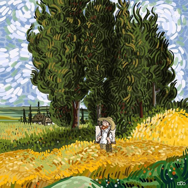 Nếu như Van Gogh có một cuộc đời đẹp đẽ và tươi vui… - 11