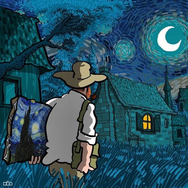 Nếu như Van Gogh có một cuộc đời đẹp đẽ và tươi vui… - 13