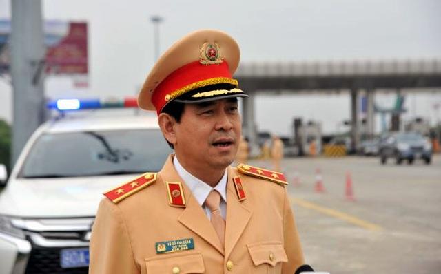 Cục trưởng CSGT kiểm tra việc xử lý vi phạm nồng độ cồn trên cao tốc - 2