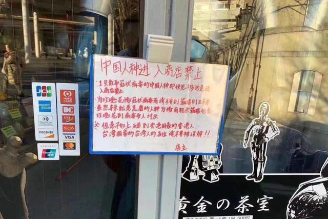 Nhà hàng treo biển cấm khách Trung Quốc - 1