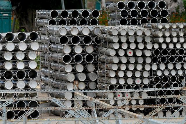 Hà Nội: Bên trong trận địa pháo hoa chuẩn bị khai hoả, đón giao thừa - 10