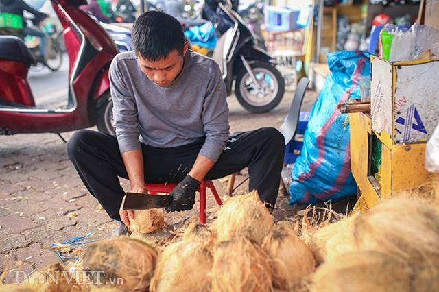 Buôn cùi dừa làm mứt Tết kiếm hàng chục triệu mỗi ngày - 3