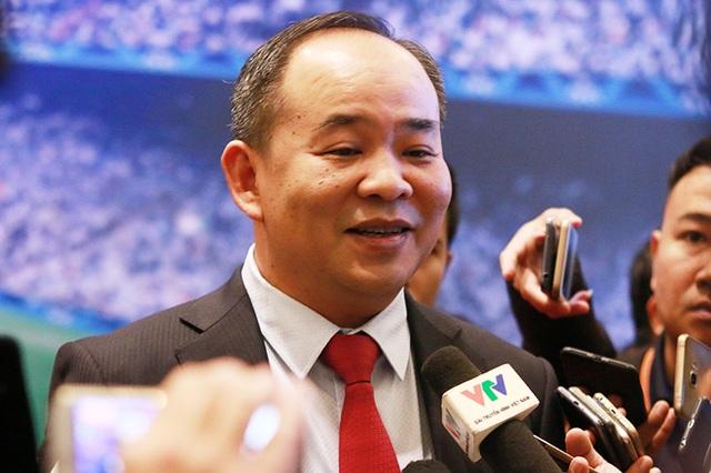 """Chủ tịch VFF Lê Khánh Hải: """"Bóng đá Việt Nam sẽ thực hiện giấc mơ World Cup"""" - 1"""