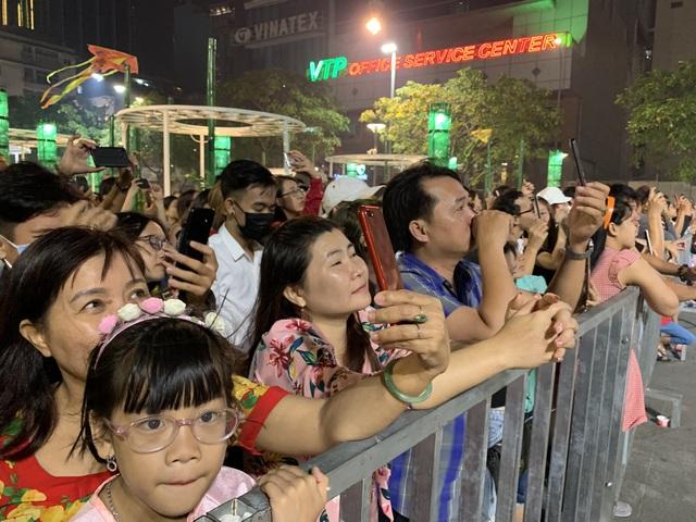Màn pháo hoa rực rỡ trên bầu trời Sài Gòn - 10