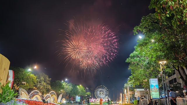 Màn pháo hoa rực rỡ trên bầu trời Sài Gòn - 2