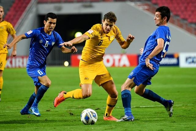Đánh bại U23 Uzbekistan, U23 Australia giành vé dự Olympic 2020 - 4